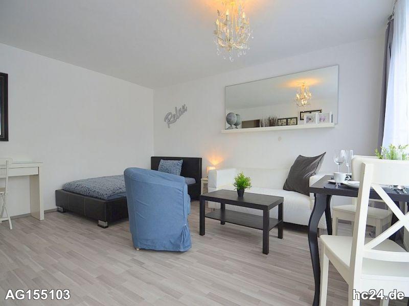 Modern möblierte Wohnung in Stuttgart Stammheim