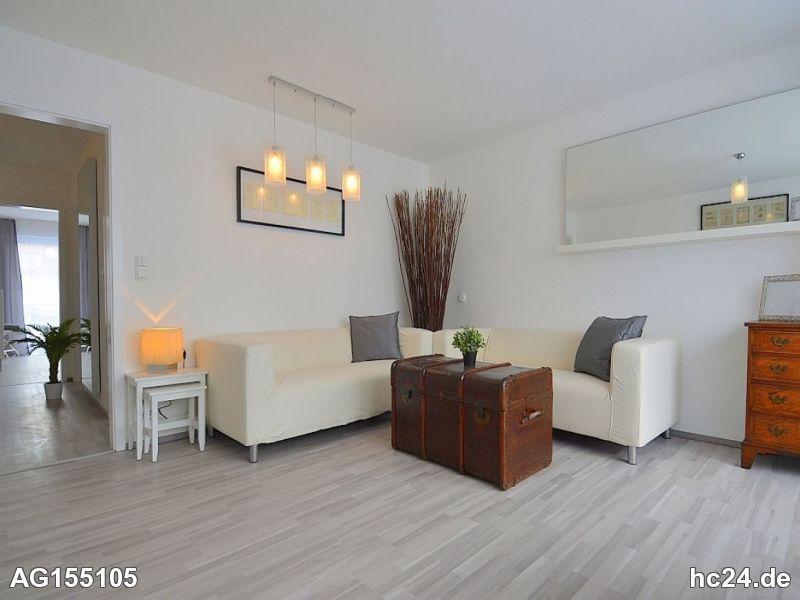 Sonnige, modern möblierte Wohnung mit Balkon in Stuttgart Stammheim
